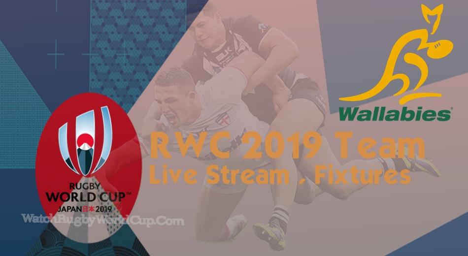 Australia Rugby World Cup Team 2019 Live Stream