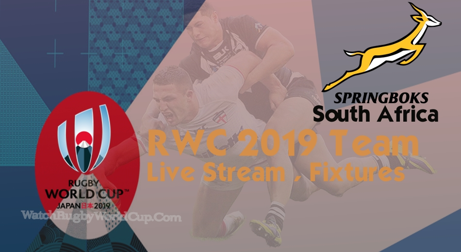 South Africa Rugby World Cup Team 2019 Live Stream