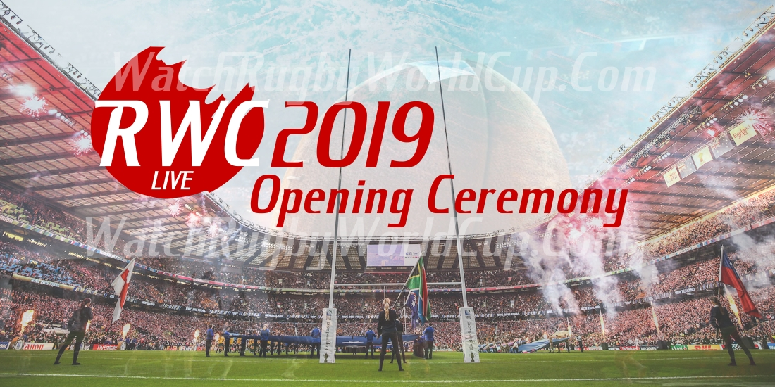 Rugby World Cup RWC2019 Opening ceremony Live