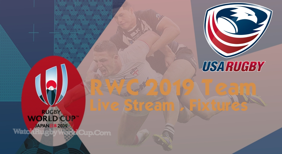 USA Rugby World Cup Team 2019 Live Stream