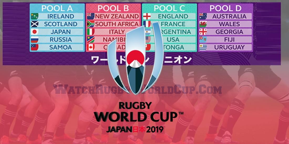 Rugby World Cup 2019 Schedule Match Dates Venue