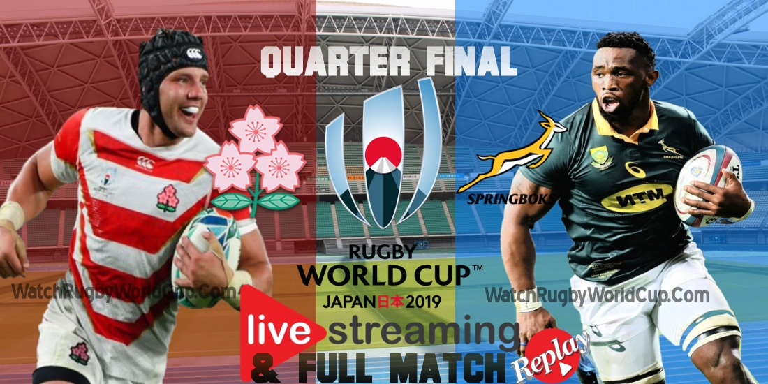 Japan VS South Africa Live Stream Quarter final RWC 2019