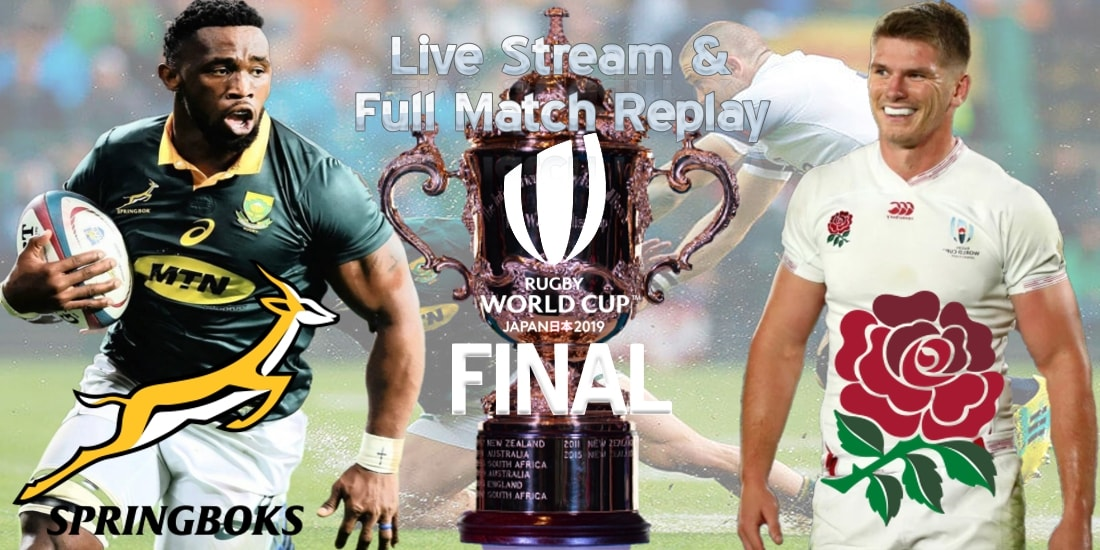 South Africa VS England Live Stream Final RWC 2019