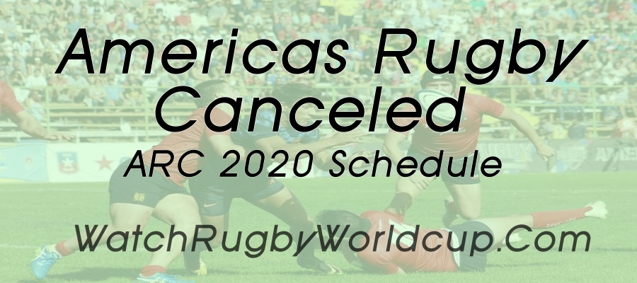 Americas Rugby declares to Cancel 2020 ARC Fixtures