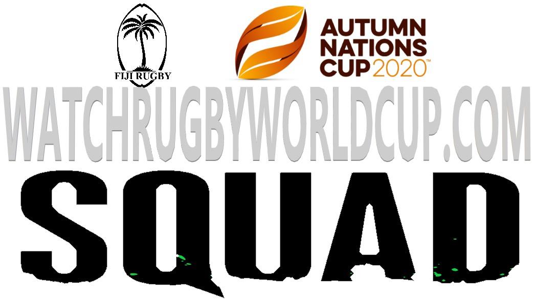Fiji Rugby Squad Autumn Schedule Live Stream