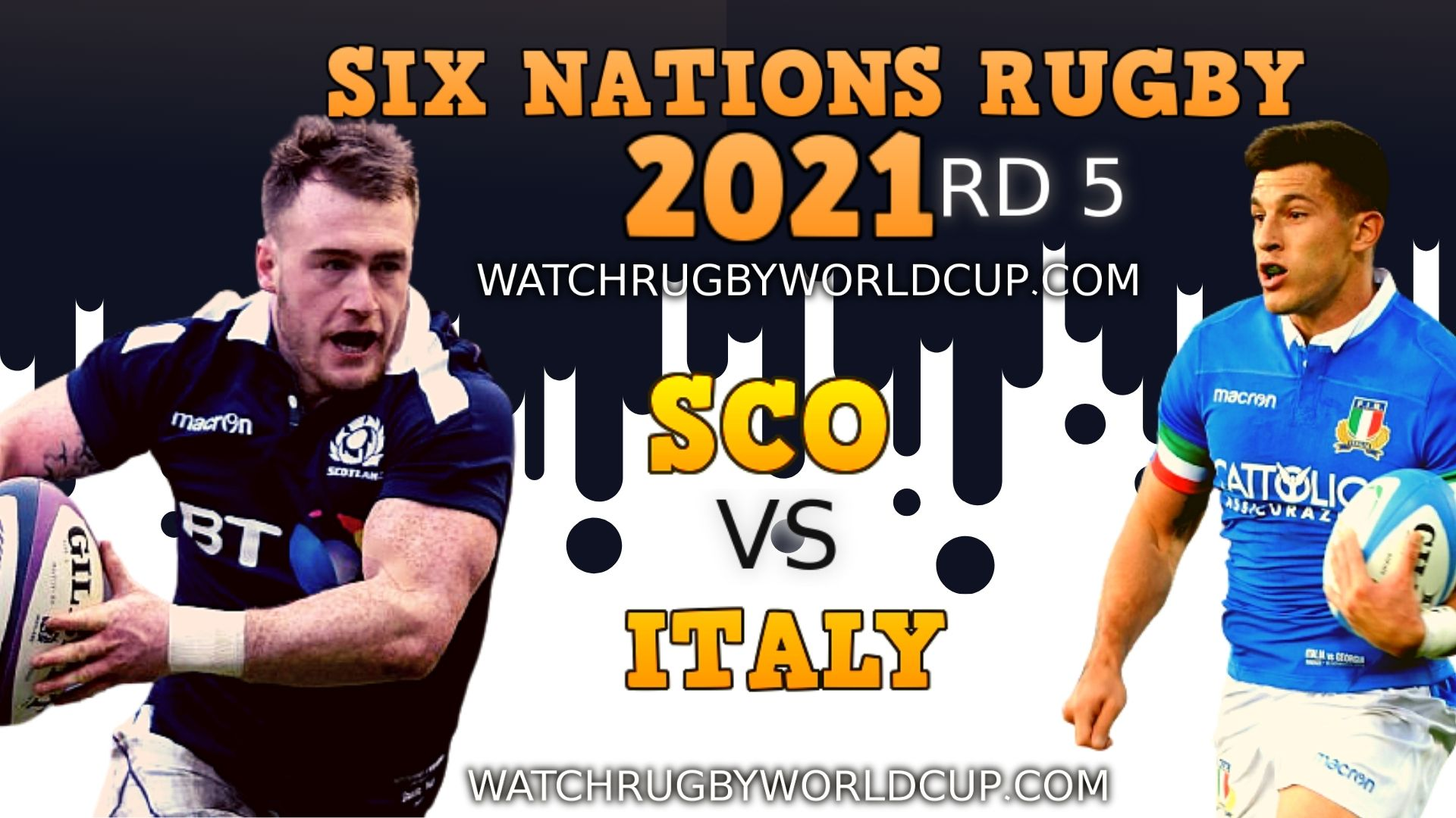 Scotland VS Italy Six Nations Rugby Live Stream