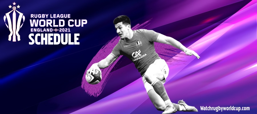 Rugby League WC Schedule 2021 TV Channels Live Stream