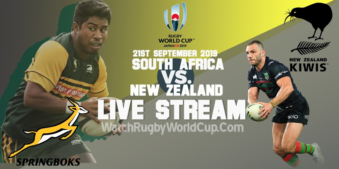 South Africa Vs New Zealand Live Streaming Rwc 2019 Full Match Replay