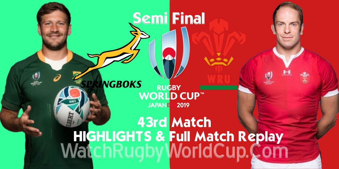 South Africa vs Wales Semi Final Extended Highlights RWC 2019