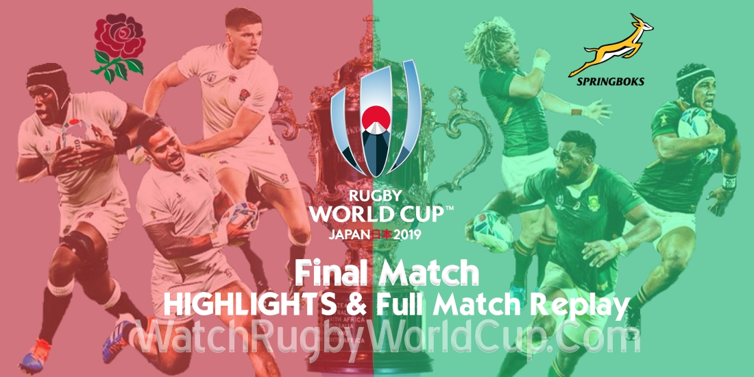 England vs South Africa Final Extended Highlights RWC 2019