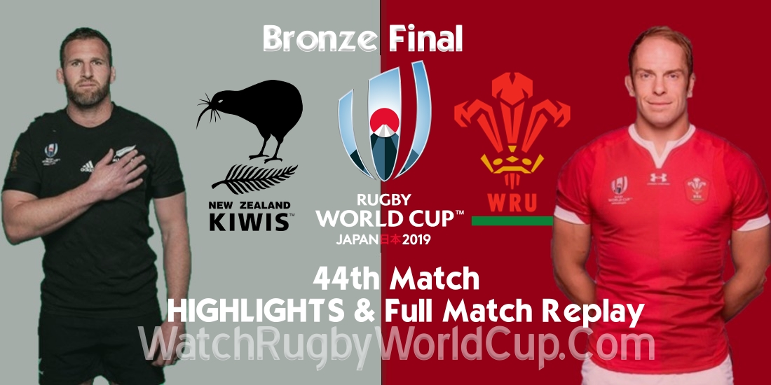 New Zealand vs Wales Bronze Final Extended Highlights Full Match Replay