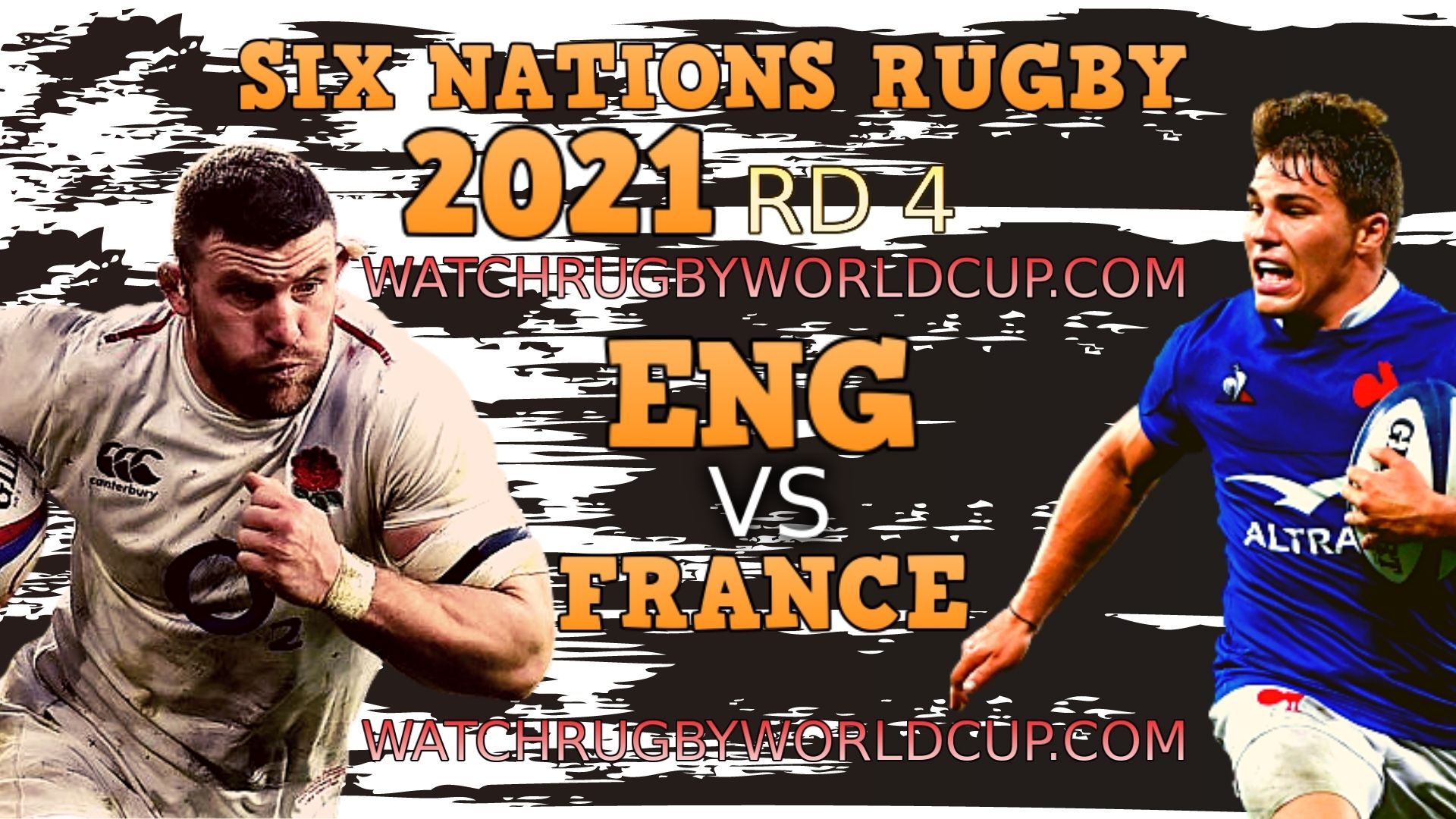 England vs France Rd 4 Live Stream 2021 & Match Replay | Six Nations Rugby slider