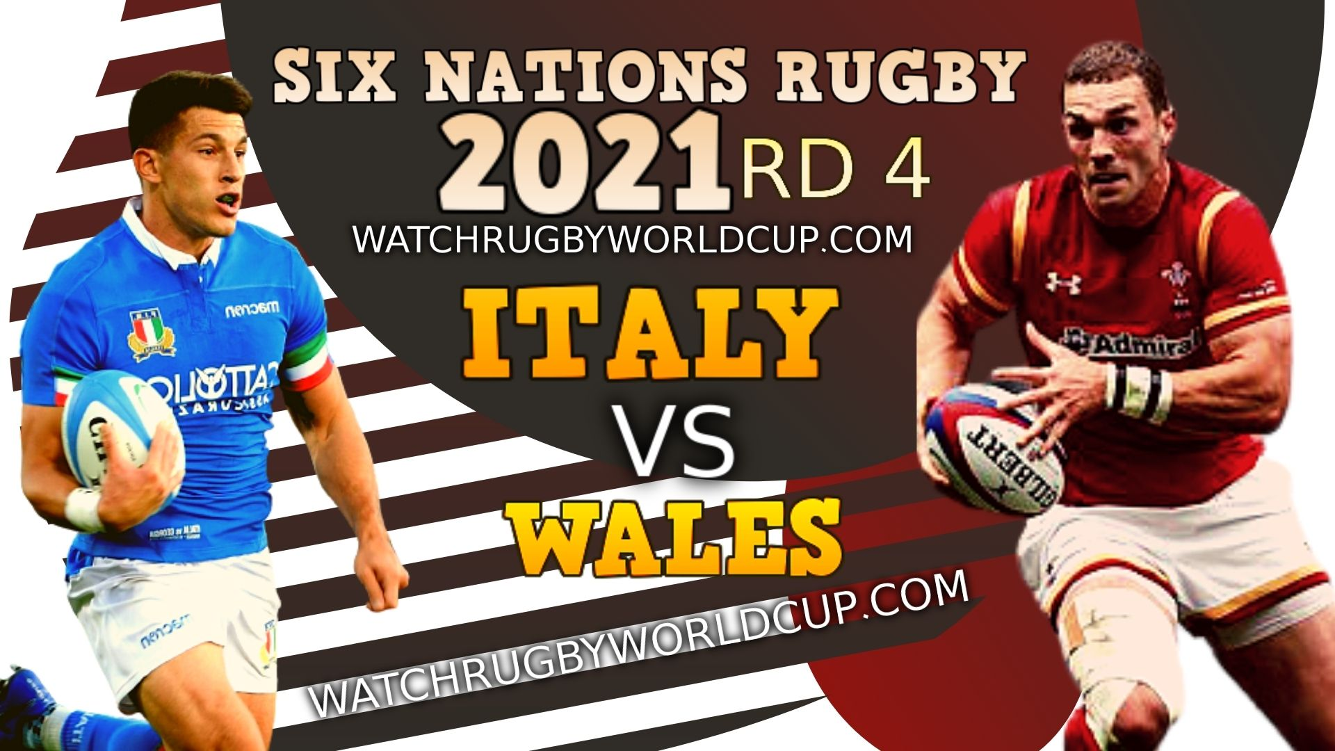 Italy vs Wales Rd 4 Live Stream 2021 & Match Replay | Six Nations Rugby slider