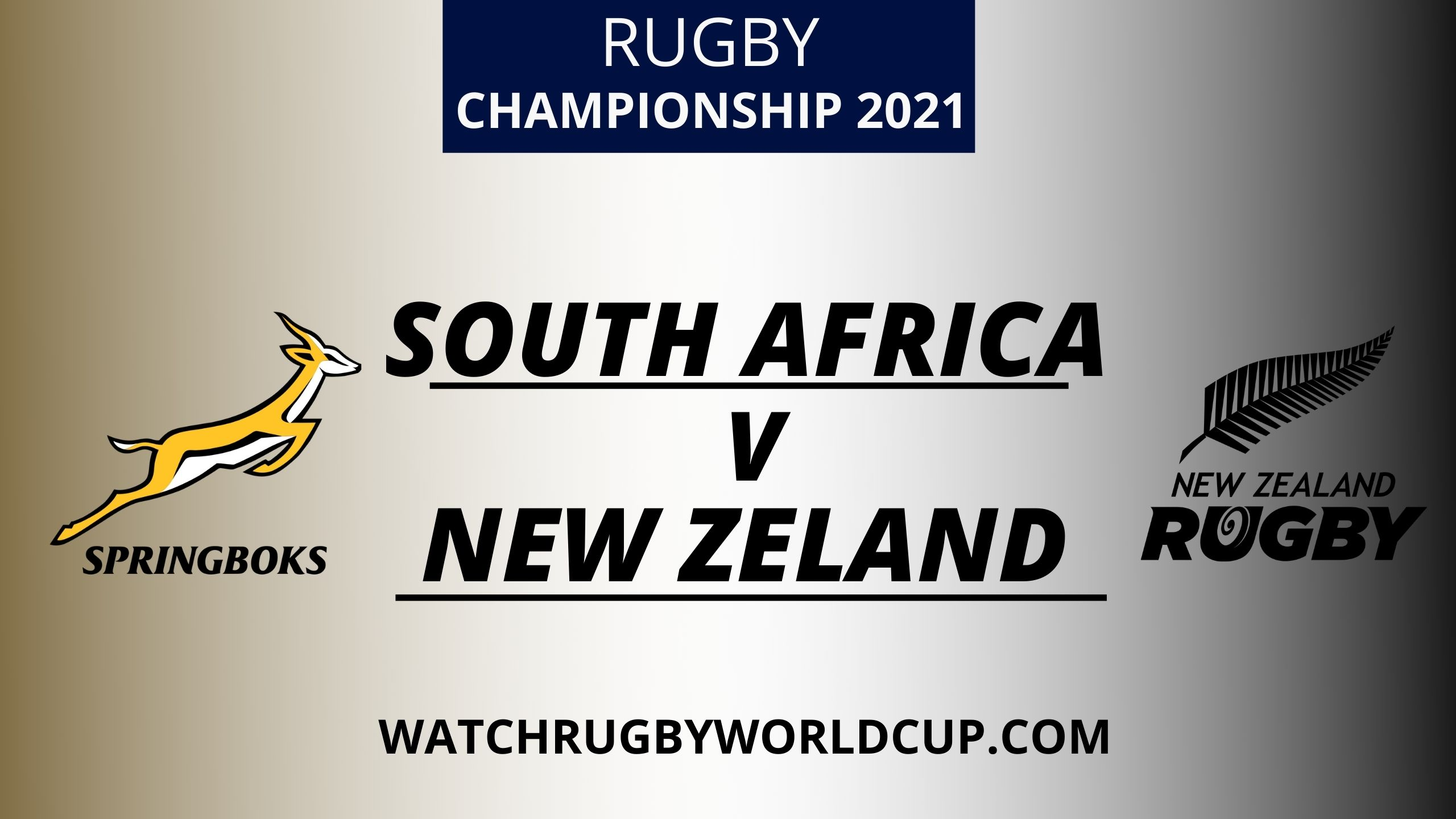 South Africa vs New Zealand Live Stream 2021 | Rugby Championship