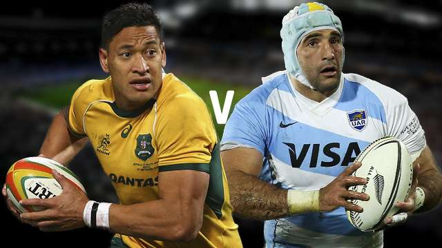 Argentina vs Australia 2015 Rugby WC Semifinal Online