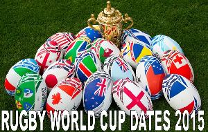 Rugby World Cup Dates 2015